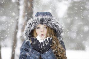 Ból gardła zimą
