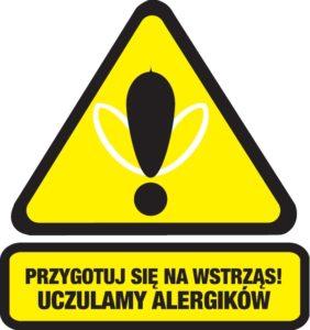 Uwaga na wstrząs anafilaktyczny!