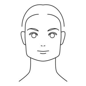 twarz kwadratowa