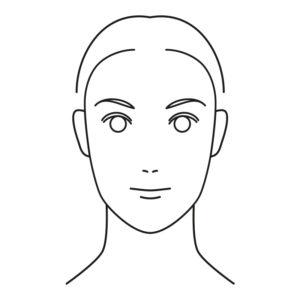 twarz podluzna