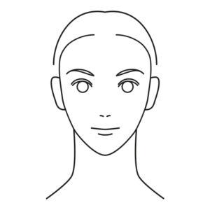 twarz trójkątna