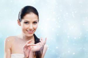 O nawilżaniu skóry zimą