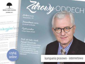 "Startuje ogólnopolska kampania ""Zdrowy Oddech"""
