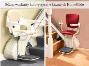 Winda krzesełkowa różne kolory